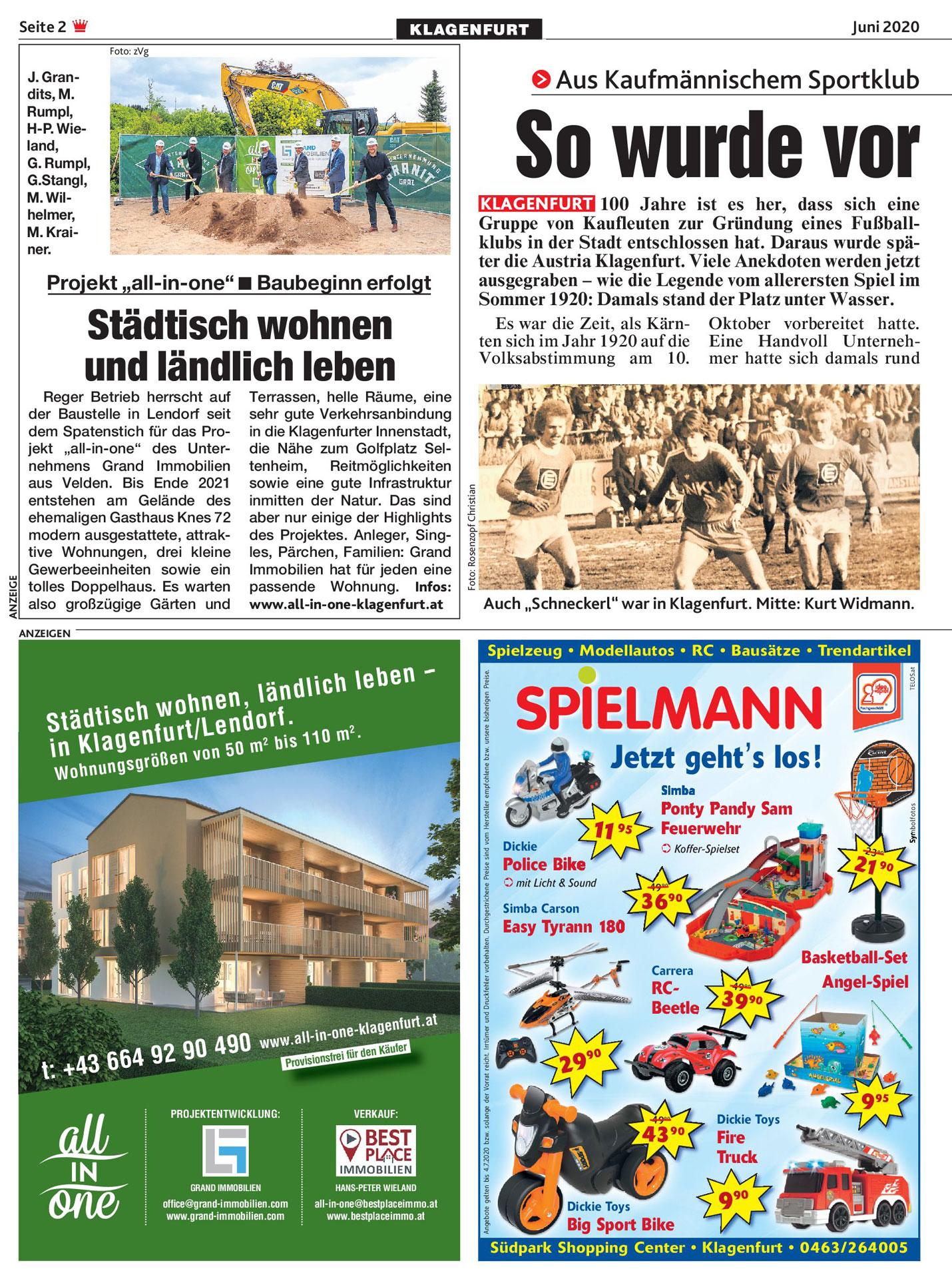 All in one Klagenfurt Kronen Zeitung