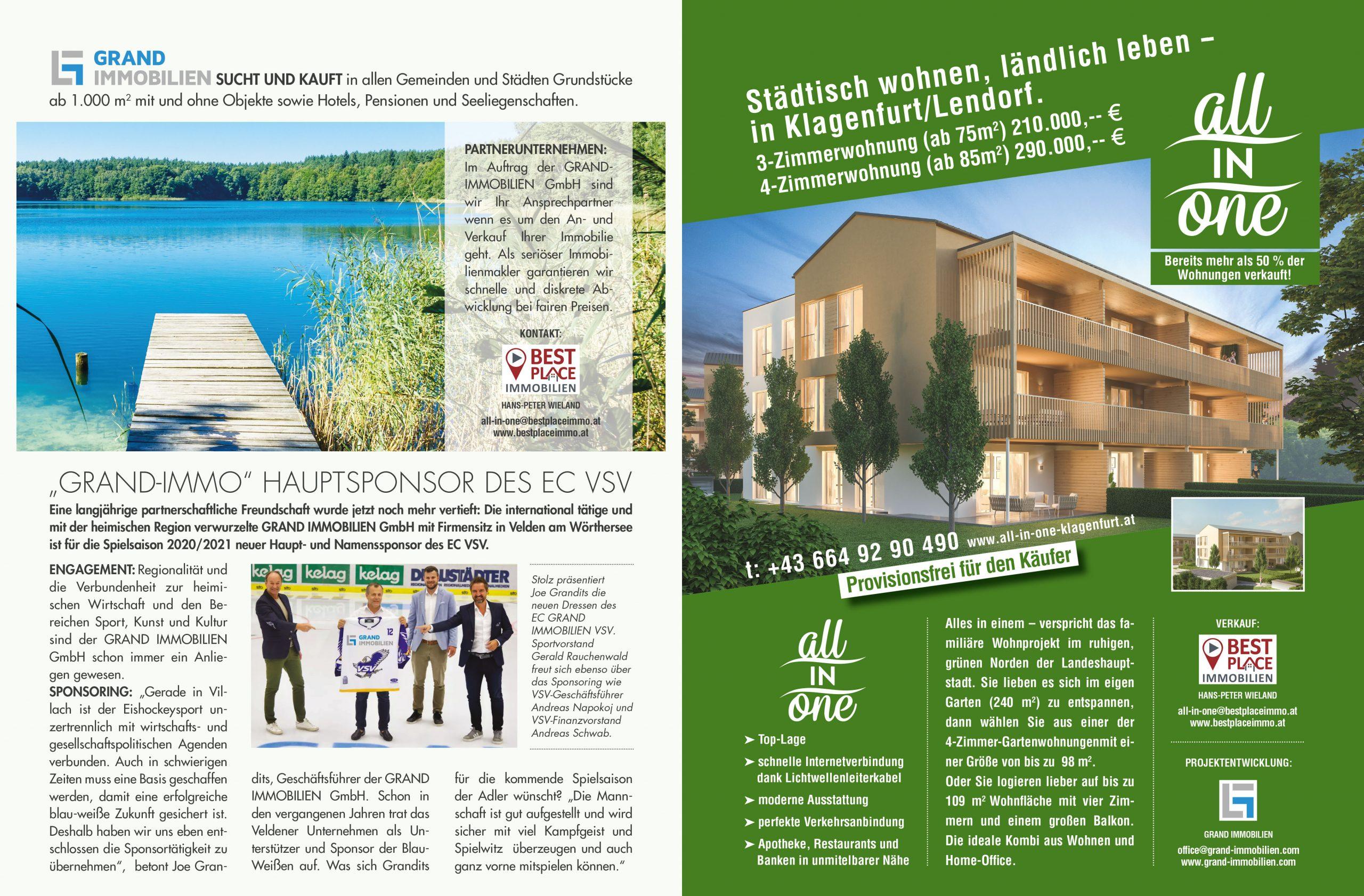 Grand Immobilien - All in one Klagenfurt